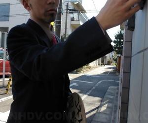 Japanese schoolgirl Nonoka Mihara roughly fucked and jizzed on as punishment