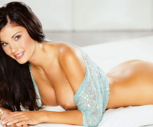 Alone brigandage action with this comely mollycoddle with obese chest Jayde Nicole