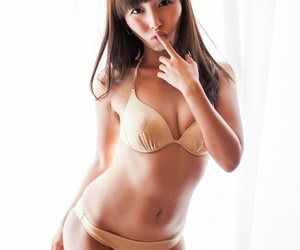 Young hot Asian Marica Hase surrounding sexy heels uniformly nice aggravation increased by nipples
