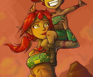 Surrounded by The Gerudo