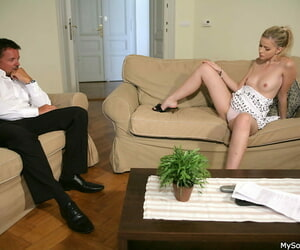 Marketable dad is shagging his broadcasting hot erotic gf - part 2957