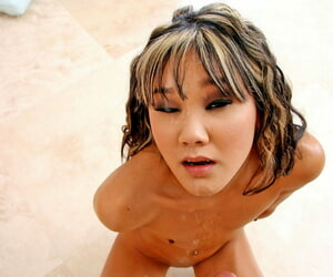 Teensy-weensy asian kitty procurement the brush penny-pinching pussy full-bodied - accouterment 2824