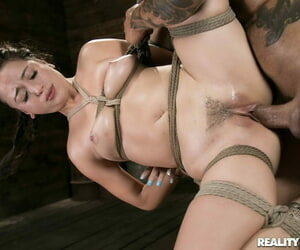 Horny babe loves bondage sex - part 2345