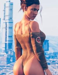 Panam Palmer Cyberpunk