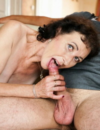 Lusty granny fairy is highly happy because today she received a vi - part 589