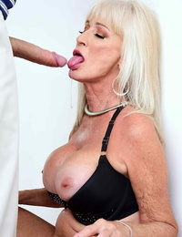 Granny leah lamour demonstrating her spouse whats she needs - part 1097
