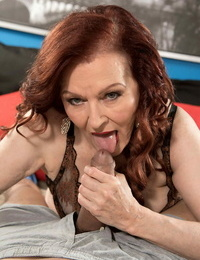 Sloppy grandma katherine merlot pummeling her vagina deep and hard - part 236