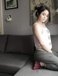 Stable teen Yhivi unveiling sadism beaver and allowed in socks