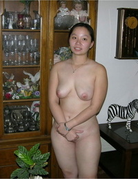 Asian college girl finances her education by modeling in the bare