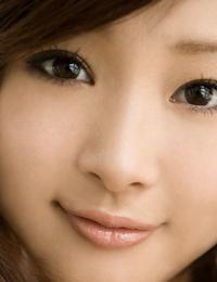 Fabulous Japanese teenager Suzuka Ishikawa shows her knockers and thicket while finally
