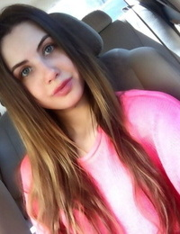 Cool accomplished Elle Rose takes a self shot or two to flaunt her Cool body