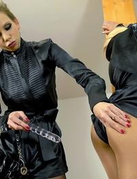 Molten fetish women Jenna Adorable & Mia Ash-blonde make some voluptuous lesbian act