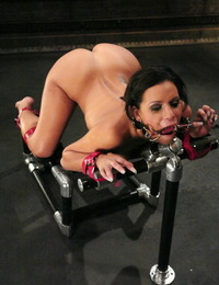 Limited brunette Mia Bangg is screwed orally and vaginally against her will