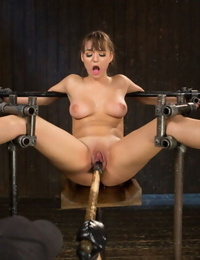 Admirer girl turned model gets the total gambet of bondage, torment, and ejaculations agai - part 1048