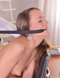 Naughty schoolgirl blue angel gets slapped and dicked by a principle - part 804