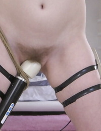 Dolly is roped up and pounded in piledriver managed and missionary - part 133