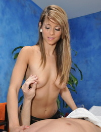 Warm Eighteen yr old mali gives more than just a massage! - part 149