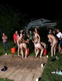 Wet sapphic games outdoor - part 37