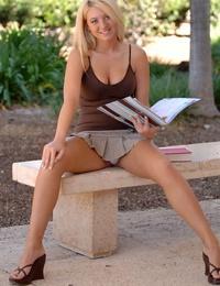 Heavenly handsome blonde alison angel naked - part 290