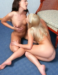 Hot amateur lesbo teenagers kissing and licking out each other - part 771