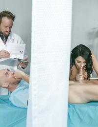 Chesty nurse valentina nappi providing bj and fucking patient after sponge bathtub - part 84