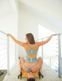 Amirah railed that hard-on like a rodeo as her thick sweet ass bounced all over - part 348