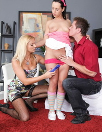 Teenage and milf on my cock - part 347