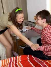Teen lada camomile encounters a cock and gets her cherry popped - part 117