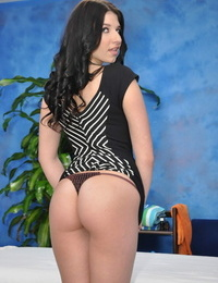 Horny woman nadia pounds her rubdown client after a caress down - part 152