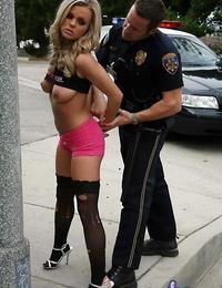 Bree olson under arrest deep throats and fucks an officer - part 1171