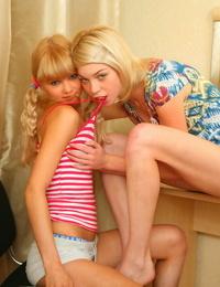 Lesbians love licking - part 188