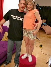 Magnificent teenager stunner gets pounded stiff in her beaver - part 2011