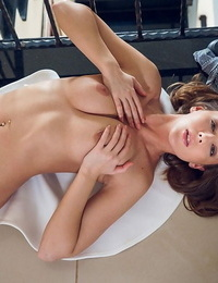 Sybil a takes off her clothes and shows off her bodys sugary asset - part 72