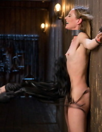 Domme is ruined with aggressive dominance in rigorous bondage! - part 382