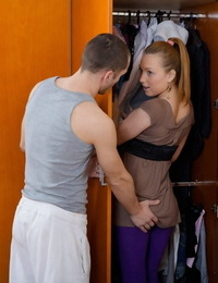 First anal contact for warm gf - part 460