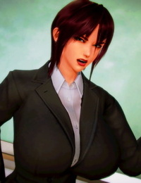 Shiguma Gal teacher capture and torment