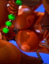 3D Hoe Feud Part 1 honey select studio - part 3