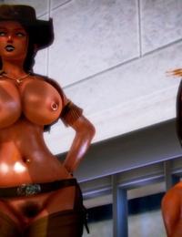 3D D/s Feud Part 1 honey select studio