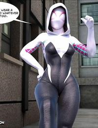 Mega Parodies Comics Bevy Spider Gwen 1