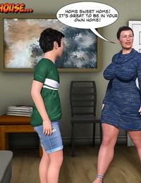 Mischievous Parent 3D The Grandma 6 English - part 3