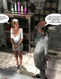 SupaFly Hollys Weird Meets - Night Shift Nurse sans white borders