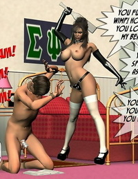 Bondage & Discipline orgy with shockingly - part 592