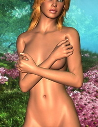 Toon woman bare poses - part 1523