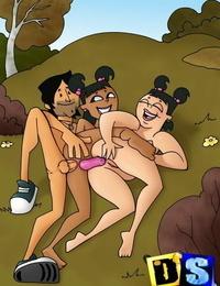 Lovemaking at total drama island beaver for booty-eating bros - part 382
