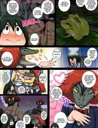 Juicebox Koujou Juna Juna Juices Boku no Harem Academia: 6-wa Doubutsu-teki na Kanojo Boku no Hero Academia French O-S