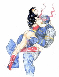 Ksennin Superhero Sketches and Comics