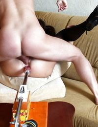 Kendra Starlet gets dual romped by shaft and screwing machine