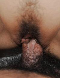 Asian MILF Junko Ishikura gives a butt cheeks with ball licking and gets nailed