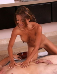 Moist and beautiful Asian bod by Kina Kai in the rubdown oral pleasure