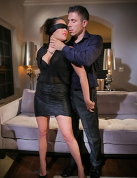 Asian nymph London Keys is blinded before having crazy hookup with hubby